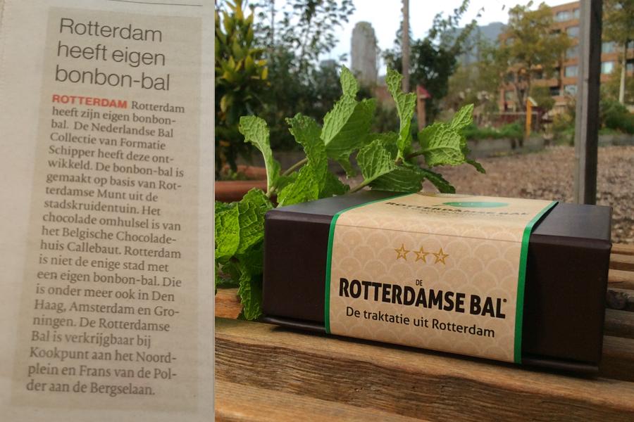 01 oktober 2017 | Rotterdamse bonbon met Rotterdamse Munt