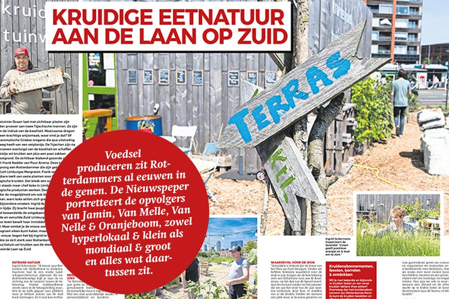 28 juni 2017 | Lokale voedselproducenten in Nieuwspeper